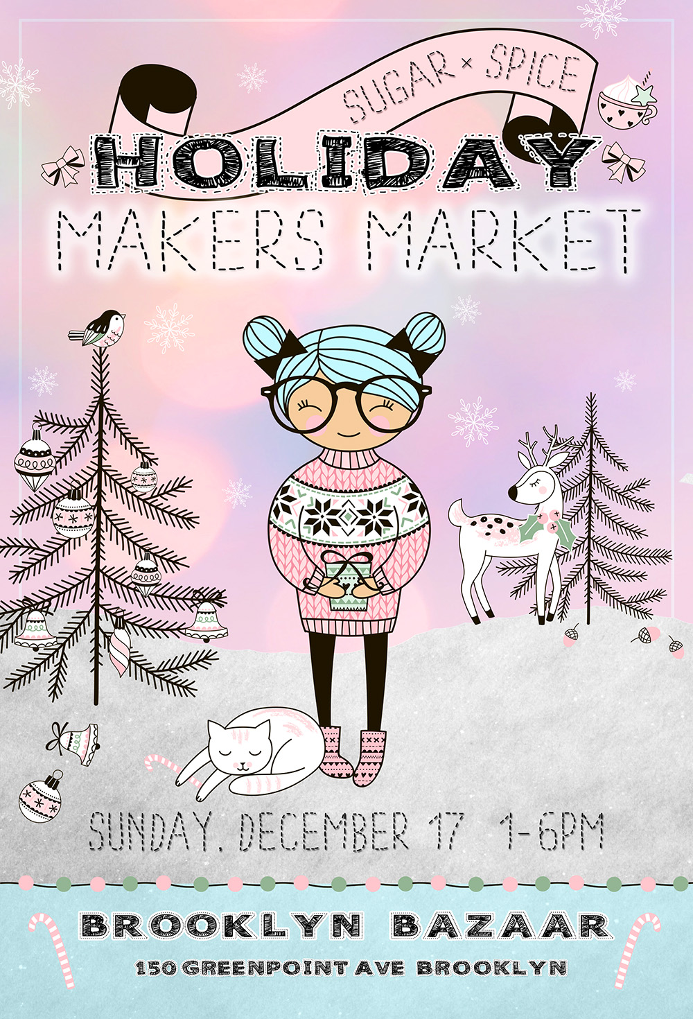 Sugar x Spice Holiday Makers Market - Brooklyn Holiday Market - Shop Small 2