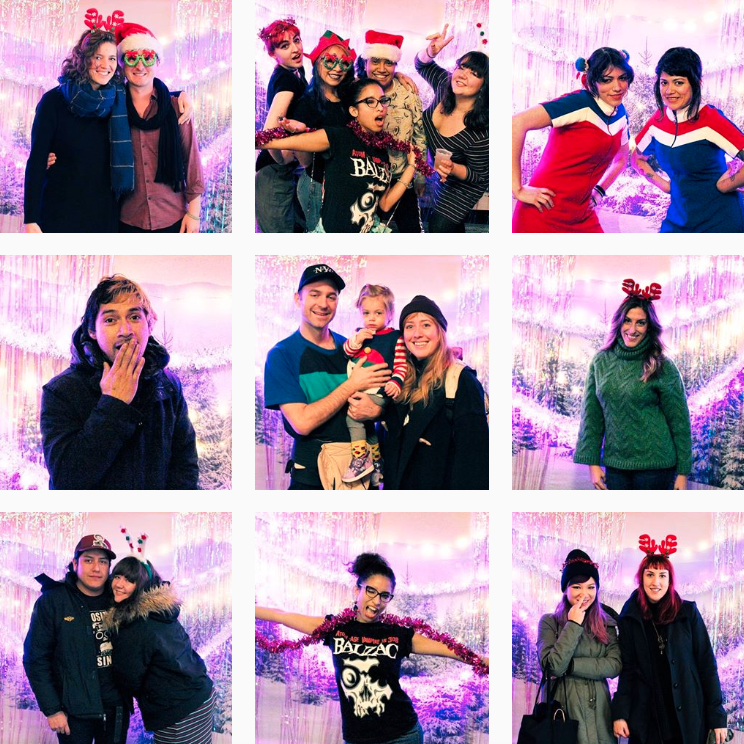 2018 Sugar x Spice Holiday Makers Market - Greenpoint, Brooklyn - Photo Booth
